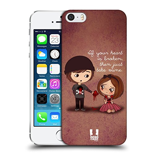 Head Case Designs Lupo Guanti Incantati Cover Retro Rigida per Apple iPhone 7 Plus / 8 Plus Give You My Heart