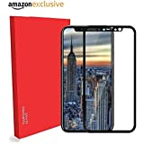 Market Affairs (5D) Premium Edge To Edge Full Glue , No Rainbow , Full Front Body Cover Tempered Full Glass Screen Protector Guard For Apple IPhone X - BLACK