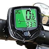 BIFY Fahrradcomputer Kabellos 16 Funktionen Wasserdichte LCD Geschwindigkeit Fahrradtacho Radcomputer