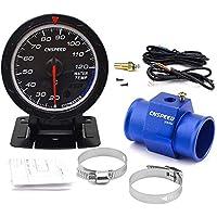 CNSPEED - Medidor de temperatura del agua del coche (60 mm, 20-120