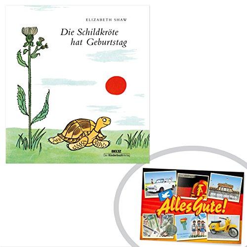 Ostprodukte-Versand.de Die Schildkröte hat Geburtstag | GRATIS DDR Geschenkkarte | DDR Geschenke | Geschenkidee für alle Ostalgiker aus Ostdeutschland | Ossi Artikel