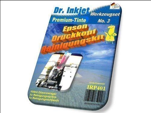 Preisvergleich Produktbild Dr.Inkjet Druckkopf-Reinigungsset Format A4 & A3 für Epson