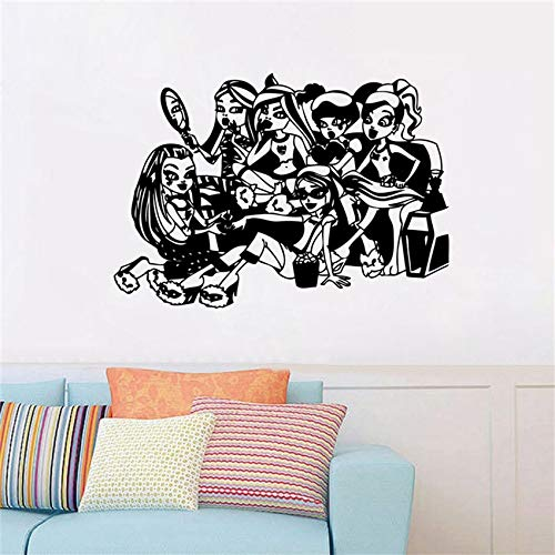 er High Schlaf über Aufkleber, Art Decor Home Decor Kinderzimmer abnehmbare Wand Dekor Cartoon Wandaufkleber 58 X 84 CM ()