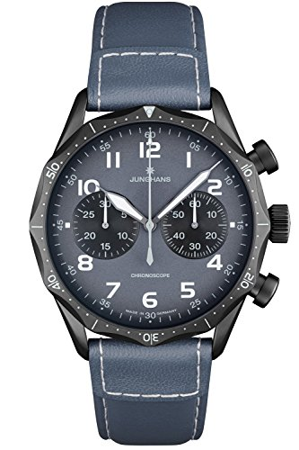 Junghans Meister Pilot Chronograph Aviator Watch 027/3795.00