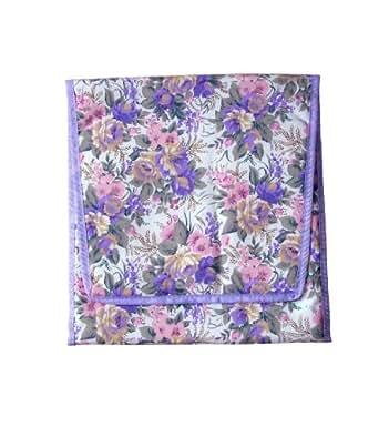 Pochette de lingerie avec dessins floraux