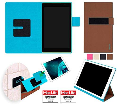 Lenovo Tab S8 Hülle Tasche Cover Case Bumper | Braun | Testsieger