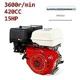 YIYIBY Motore a benzina motore a cartoncino 9 KW 420 CC pompe e barche a 4 tempi...