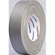 HellermannTyton Gewebeklebeband HelaTape Tex Grau (L x B) 50 m x 19 mm Kautschuk Inhalt: 1 Rolle(n)