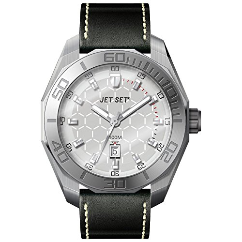 Jet Set Men Watch Milan black/silver J66103 257