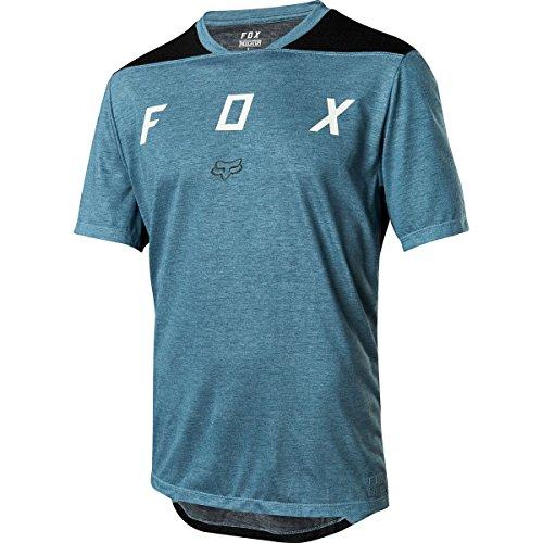 FOX Indicator Ss Mash Camo Jersey, Blau, Größe L (Klassische Gesichter, T-shirt Weiches)