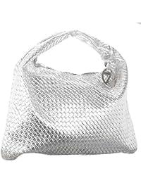 Osaiz PU Leather Designer Handbag Medium Size Zipper Style For Women  a80e2c4147ddb