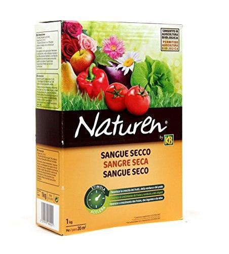 sangue secco - naturen kb - favorisce la crescita dei frutti della verdura e del prato
