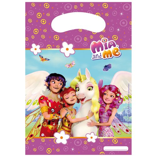 Mia and Me 419579 - Geschenktüten, Mehrfarbig