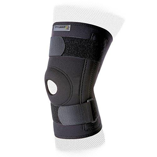 Neopren-kniebandage (Physioroom Stabilisierende Neopren-Kniebandage - Aussparung um die Kniescheibe - Groß)