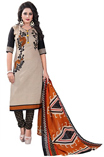 Crazy Women's Clothing Cotton Dress Material for women with Cotton Dupatta Unstitched