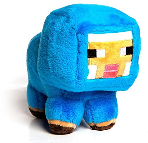 Sheep Blue Plush - Minecraft - 18cm 7""