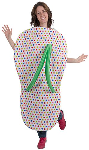 Imagen de disfraz de chancla arcoíris para adulto