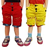 AD & AV PACK OF TWO COTTON SHORTS(ONE RE...