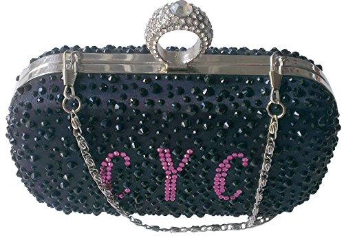 CYC apos;Signature' schwarz Classic Style Damen Geldbörse Kupplung Taschen Schöne Geldbörse (Tasche Juicy Couture)