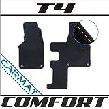 VVVV Multivan T4 Caravelle 2-Sitzer Bj. 1990-2003 nur Automatikgetriebe Fussmatten Autoteppiche COMFORT