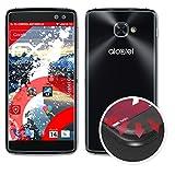 atFolix Schutzfolie passend für Alcatel One Touch Idol 4S Folie, entspiegelnde & Flexible FX Bildschirmschutzfolie (3er Set)
