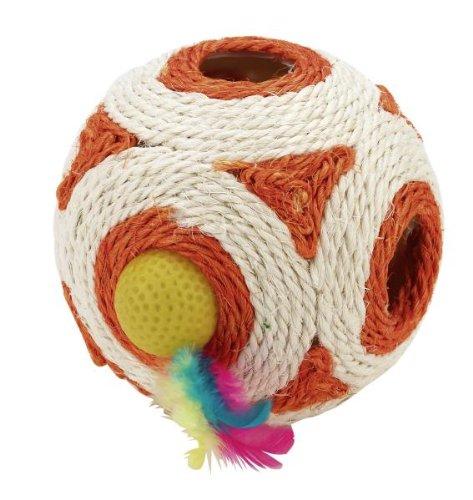 Kerbl Spielwürfel Rassel- Feder- Ball 12cm