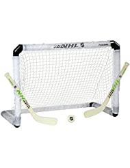 Franklin Sports NHL Glow In The Dark Mini Hockey Set With Ball & Sticks