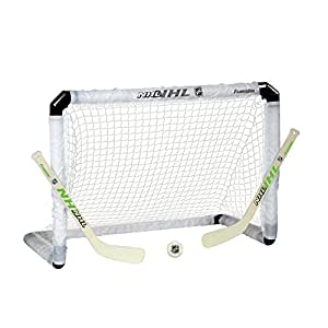 Franklin Sports NHL hockey light-up mini Goal, stick and Ball set