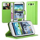 Cadorabo - Custodia Compatibile con Samsung Galaxy S3 / S3 Neo, in Verde Menta, con Scomparto per Carte di Credito e Funzione leggio