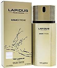 Ted Lapidus Gold Extreme For Men - Eau de Toilette, 100 ml