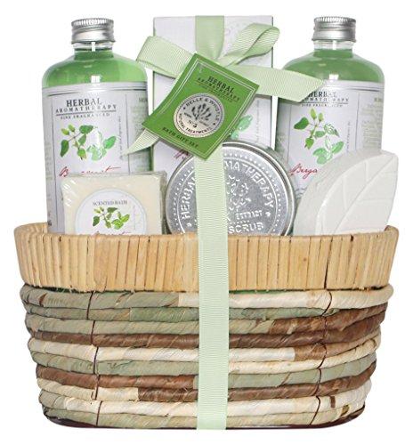 Gloss! cestino bagno gm erbe - confezione da 5 pezzi
