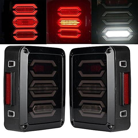 Led Feu arrière pour 2007–2017jeep Wrangler JK (LED Queue Light-jt04)