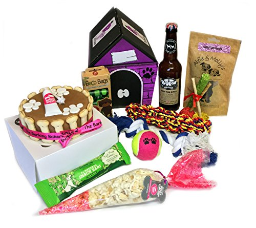 Dog Birthday Cake Gift Hamper