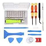 Reparatur Tool Kit MOHOO 45 In 1 Set Multifunktions-Schraubendreher mobilen Reparatur-Tools reparatur werkzeug smartphone Reparatur Werkzeug für Handy Laptop Tablet PC etc.