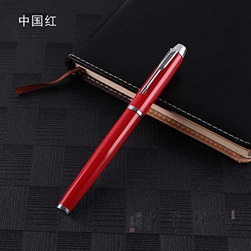 Metall-Kugelschreiber, 0,5 Mm Kugelschreiber Roller-Stift Praktische Refill Kann Die SchüLer Und Freunde (Zwei Installiert) 14 * 1.1Cm -