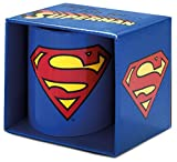 Superman Logoshirt – Tasse DC Comics Logo Mug – Bleu – Produit officiel original design