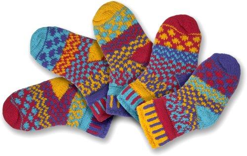 ched Baby Socken fuer Maedchen oder Jungen, Zwei Paar mit einem Ersatzteil Gluehwuermchen Neugeboren ()