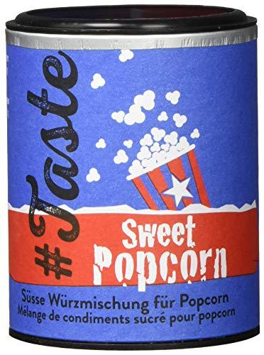Taste Sweet Popcorn - Süße Würzmischung mit Zucker, Zimt und Kardamom (3 x 96g)