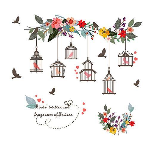 Stickers muraux Belle fleur vign...