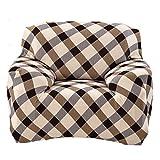 Housse de Canapé Slipcover Sofa Fauteuil Siège Élastique Lavable 90-140cm - # 2