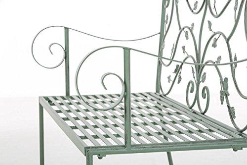grüne Gartenbank Metal