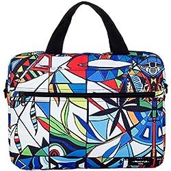 BevAve® 14-Zoll Laptop-Tasche Notebook-Tasche, Canvas Designer-Tasche Design Sleeve Handtasche Schultertasche Umhängetasche Schutzhülle Tragetasche