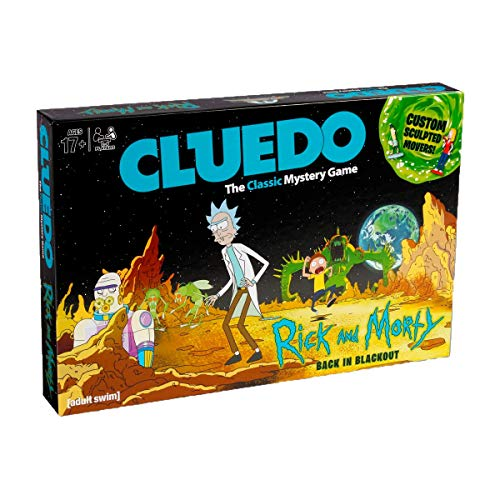 Eleven Force Rick & Morty Cluedo Rick&Morty, Multicolor (8436573610940)