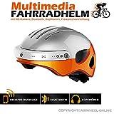 Helm mit Bluetooth, Action-Kamera, Freisprecheinrichtung AIRWHEEL C5. XL Größe (Kopfumfang 59-63cm). GARANTIE 24 Monate