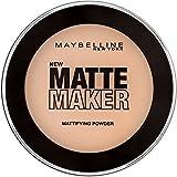 Maybelline Matte Maker Puder Nr. 35 Amber Beige, nimmt überschüssiges Öl auf der Haut auf, für einen perfekt mattierten Teint, angenehmer Tragekomfort, langanhaltend, 16 g