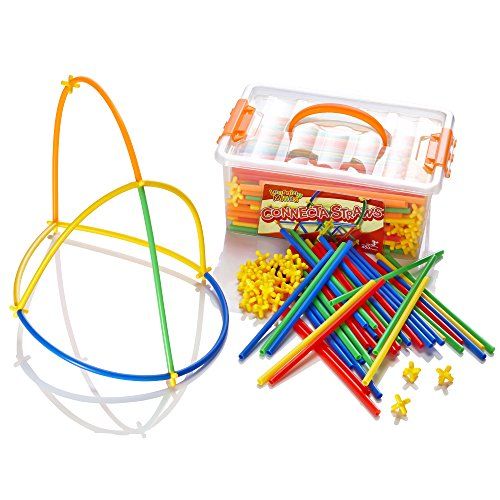 Learning Minds Connecta Straws Tub - 400 Pieces