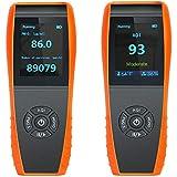 lkc-1000s detector de calidad del aire interior Monitor de temperatura y humedad profesional precisa prueba formaldebyde con pm2,5/PM10/HCHO/aqi/partículas