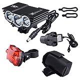 Nestling® Mountain Cycle Bicycle Light, Bike Front Lamp Torch, Headlamp Headlight Flashlight Waterproof