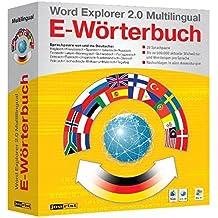 Word Explorer 2.0 Pro Multilingual E-Wörterbuch. CD-ROM für Windows Vista/XP/2000 o. Mac OS X ab 10.3