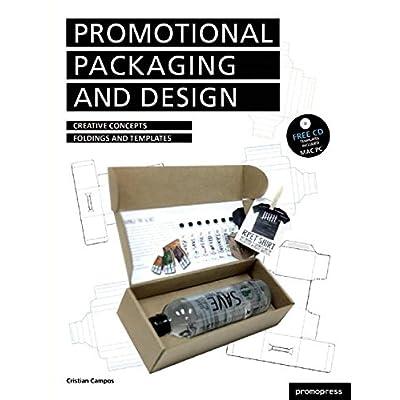 Diseno y packaging promocional - conceptos creativos, pliegues y plantillas - con las plantillas PC/MAC